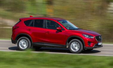 Mazda CX-5, Seitenansicht