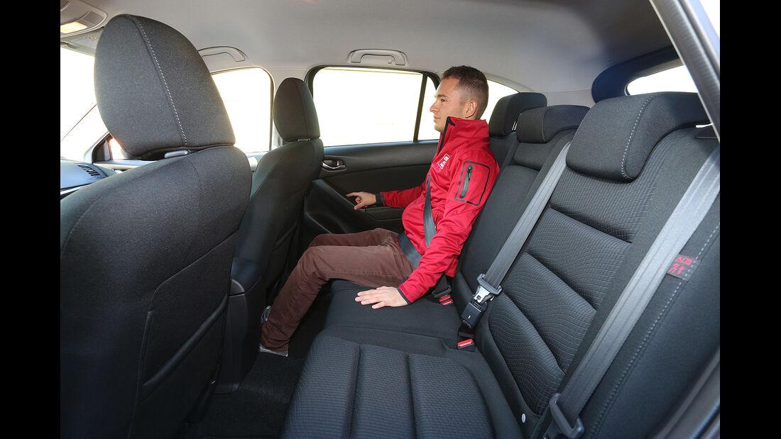 Mazda CX-5 Skyactiv-D 150 AWD Center-Line, Fond