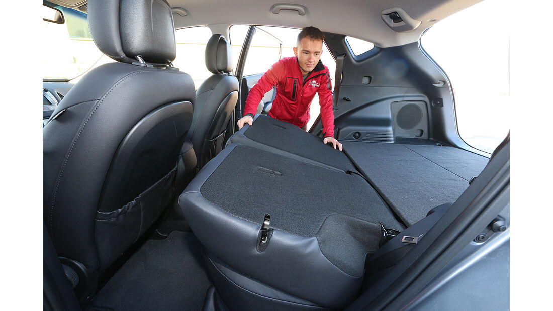 Mazda CX-5 Skyactiv-D 150 AWD Center-Line, Kofferraum