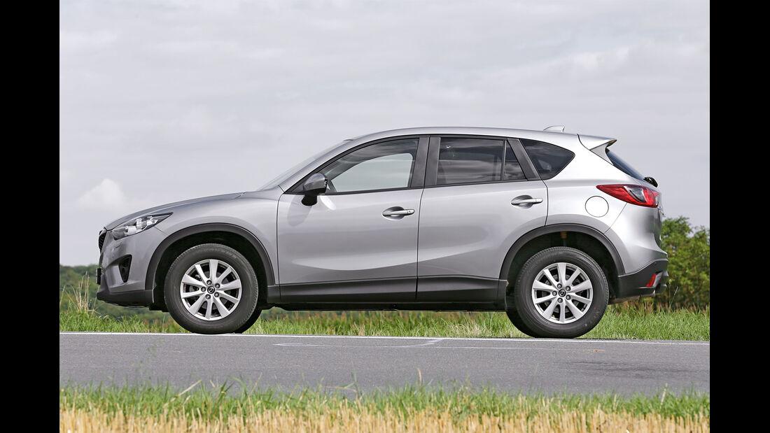 Mazda CX-5 Skyactiv-D 4WD Centerline, Seitenansicht