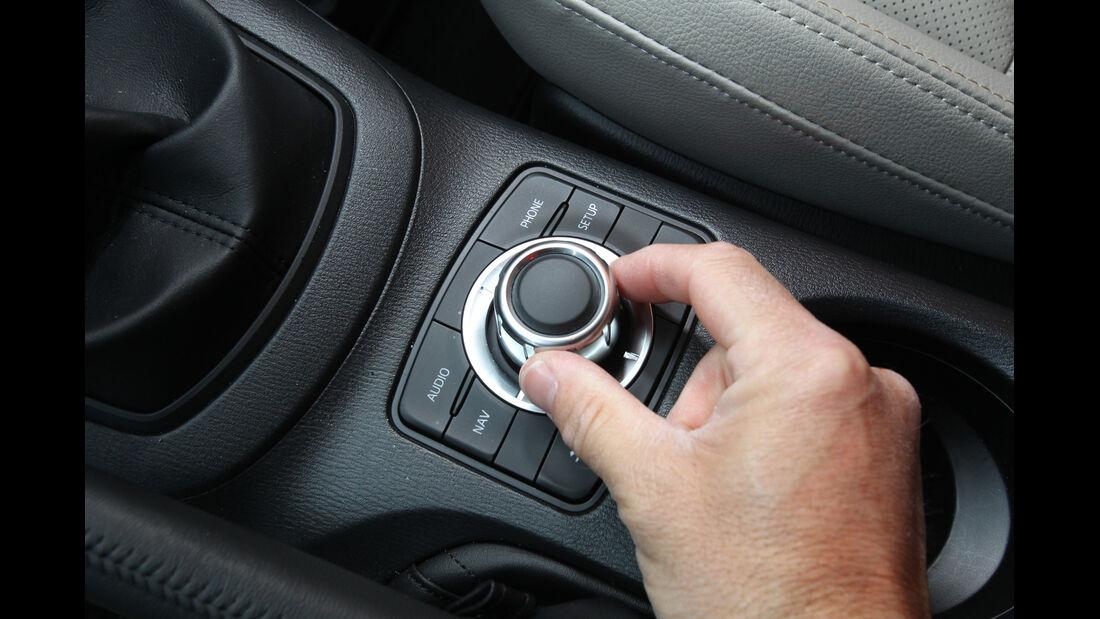 Mazda  CX-5 Skyaktiv-D AWD Sports-Line, Bedienelemente, Mittelkonsole