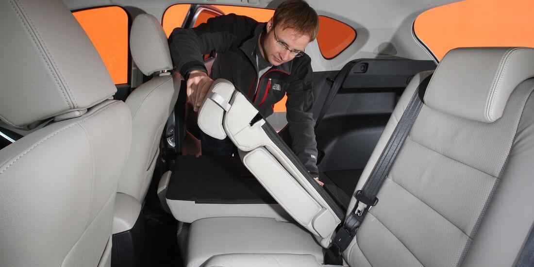 Mazda  CX-5 Skyaktiv-D AWD Sports-Line, Sitz umklappen