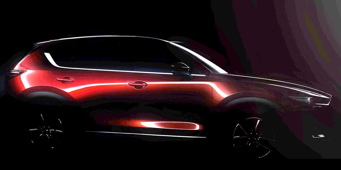 Mazda CX-5 Teaser L.A. Auto Show 2016