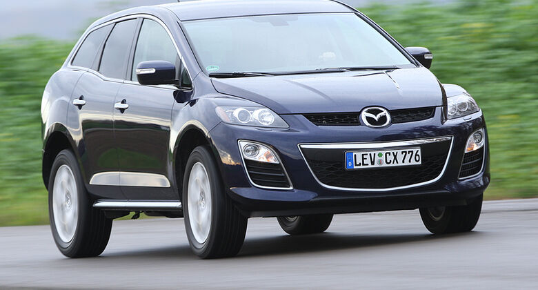 mazda cx 7 tests auto motor und sport. Black Bedroom Furniture Sets. Home Design Ideas