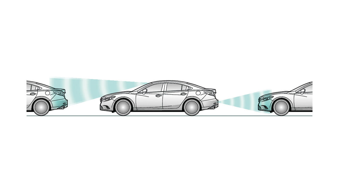 Mazda, City-Notbremsassistent