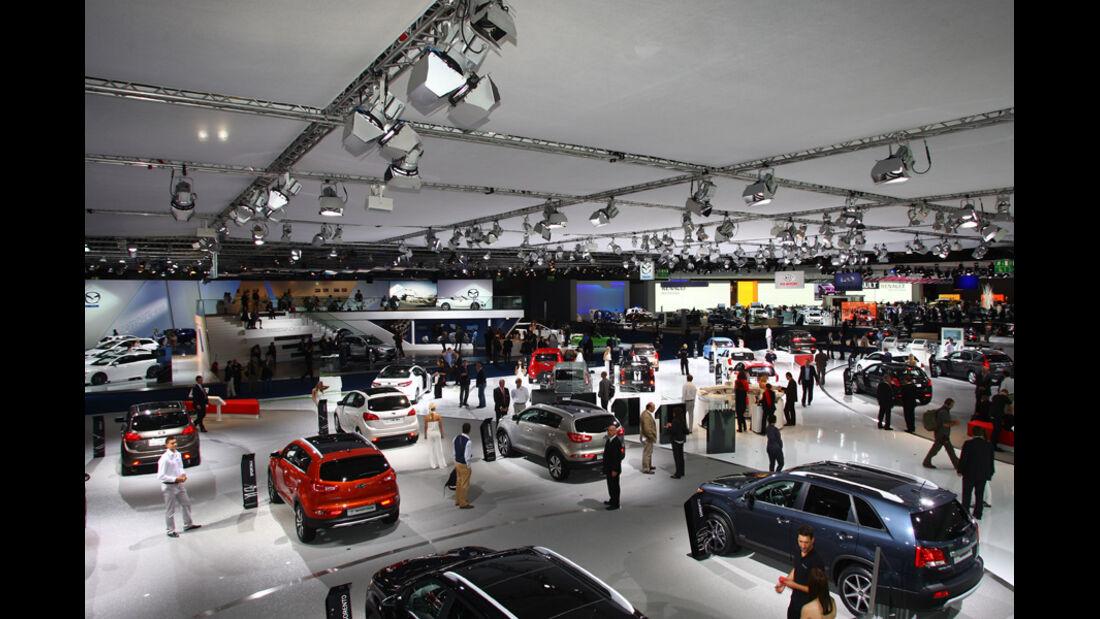 Mazda IAA 2011 Atmosphäre