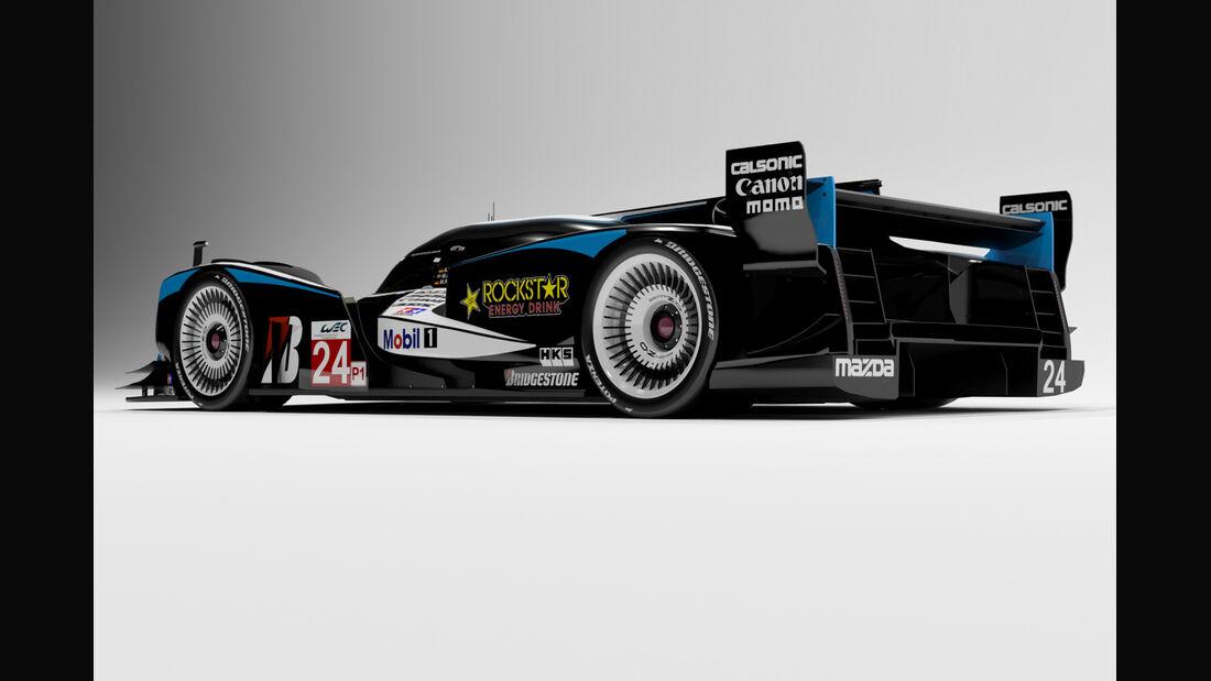 Mazda LMP1 Concept - Oriol Folch Garcia