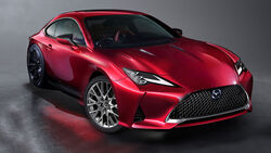 Mazda Lexus Kooperation Modell Mix Lexus RC Mazda Vision RX