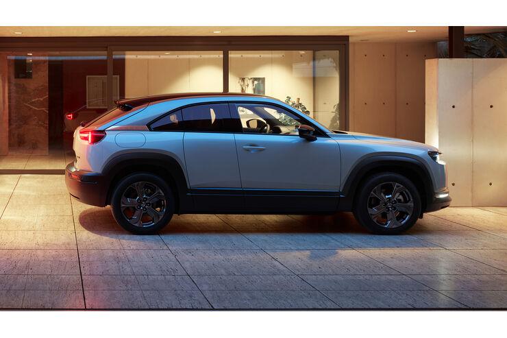 Mazda MX-30 e-Skyactiv-G: E-Auto kommt mit Verbrennungsmotor