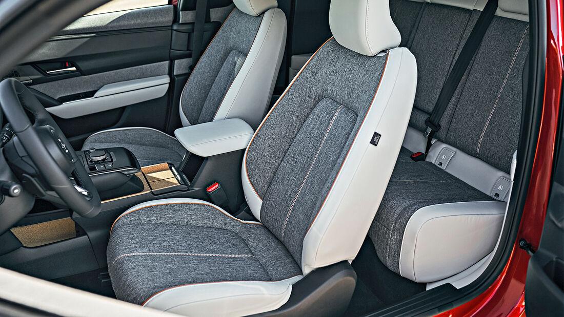 Mazda MX-30, Interieur