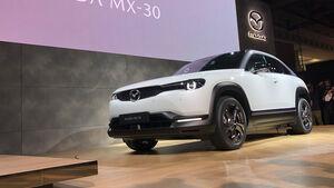 Mazda MX-30 e-Skyactiv Elektroauto SUV Tokio Motor Show 2019