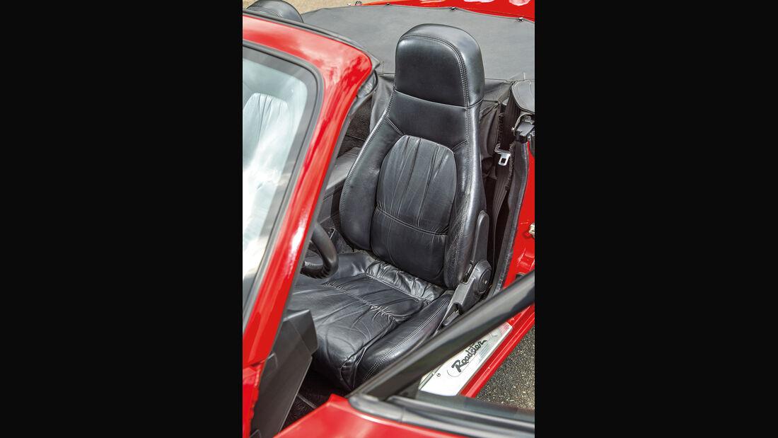 Mazda MX-5 1.6/1.8 Typ NA, Fahrersitz