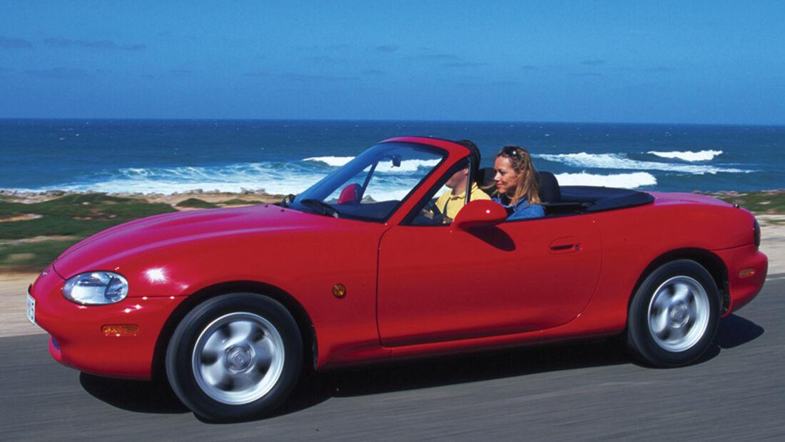 Mazda MX-5 1.6, Seitenansicht