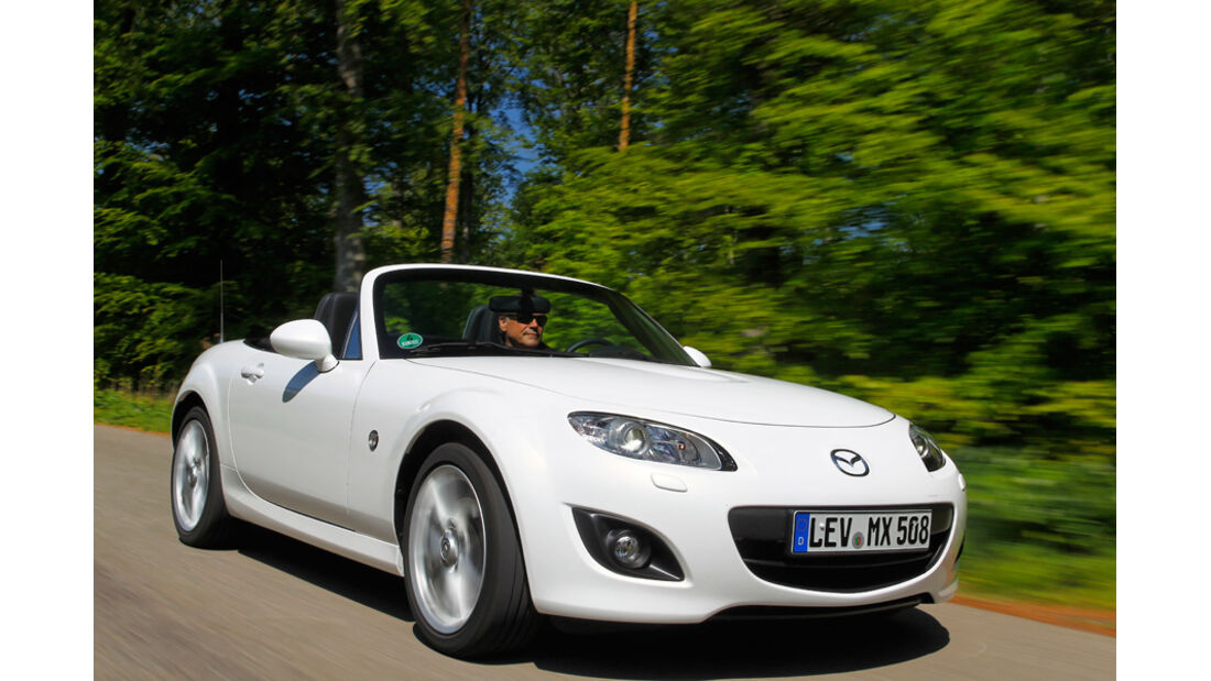 Mazda MX-5 2.0, Frontansicht