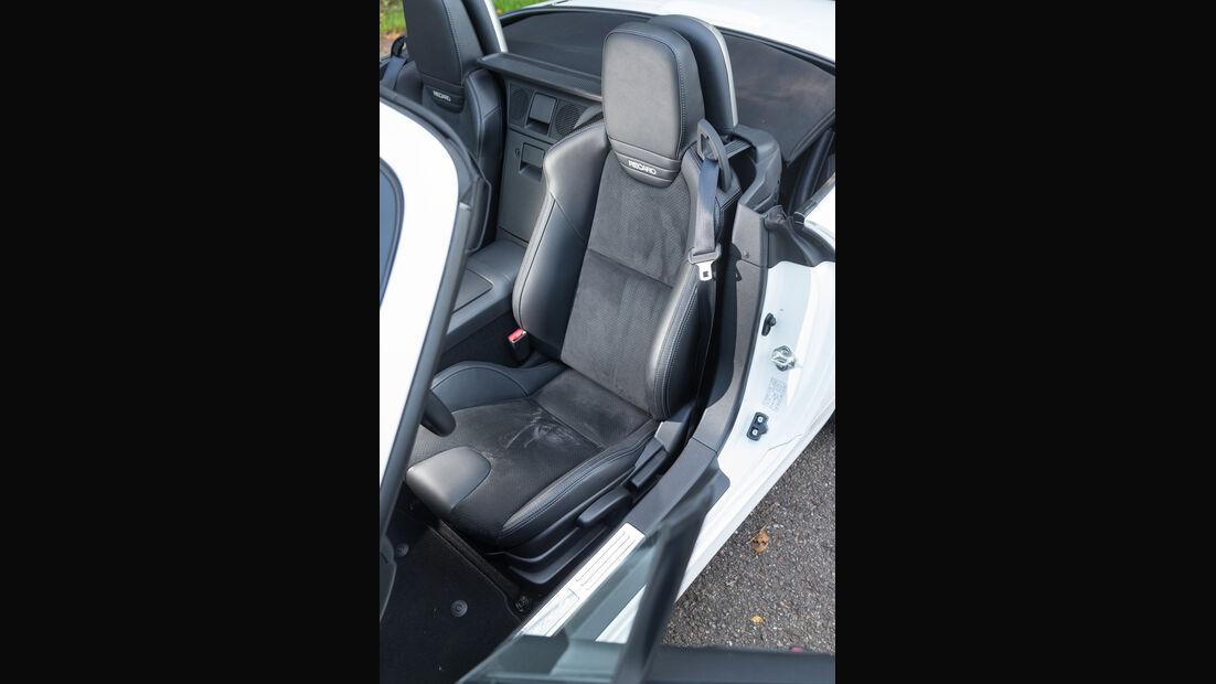 Mazda MX-5 2.0 MZR, Fahrersitz