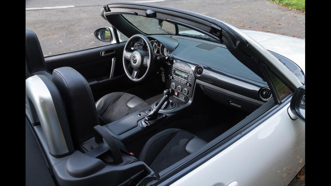 Mazda MX-5 2.0 MZR, Interieur