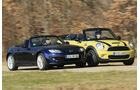 Mazda MX 5 2.0 MZR, Mini Cooper S Cabriolet