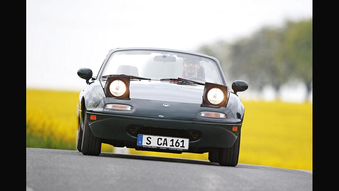 Mazda MX-5, Frontansicht