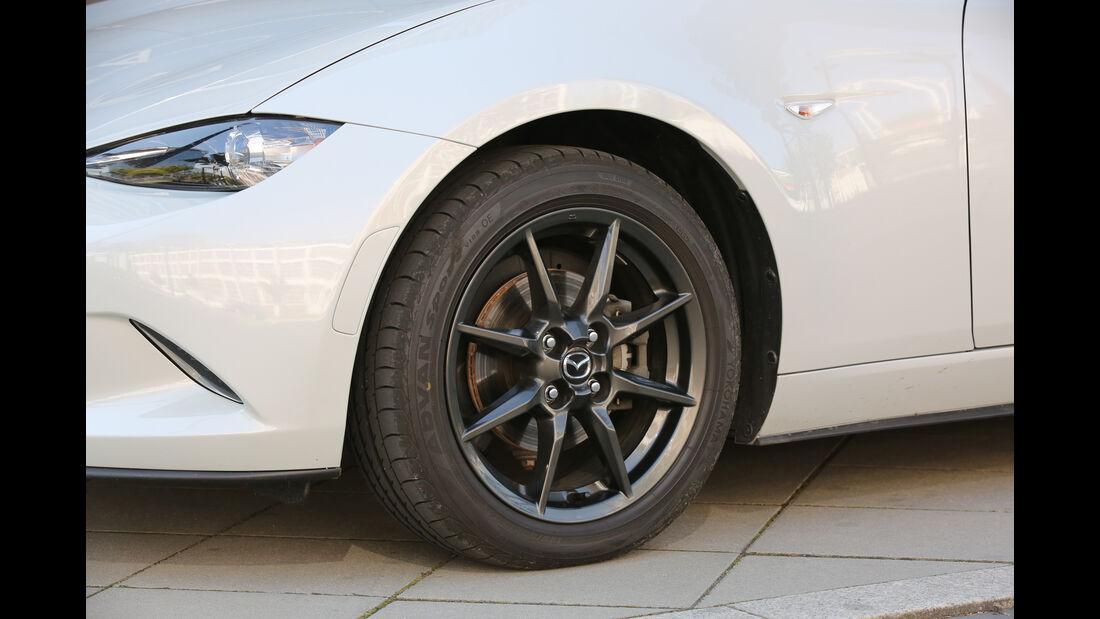 Mazda MX-5 G 131, Rad, Felge