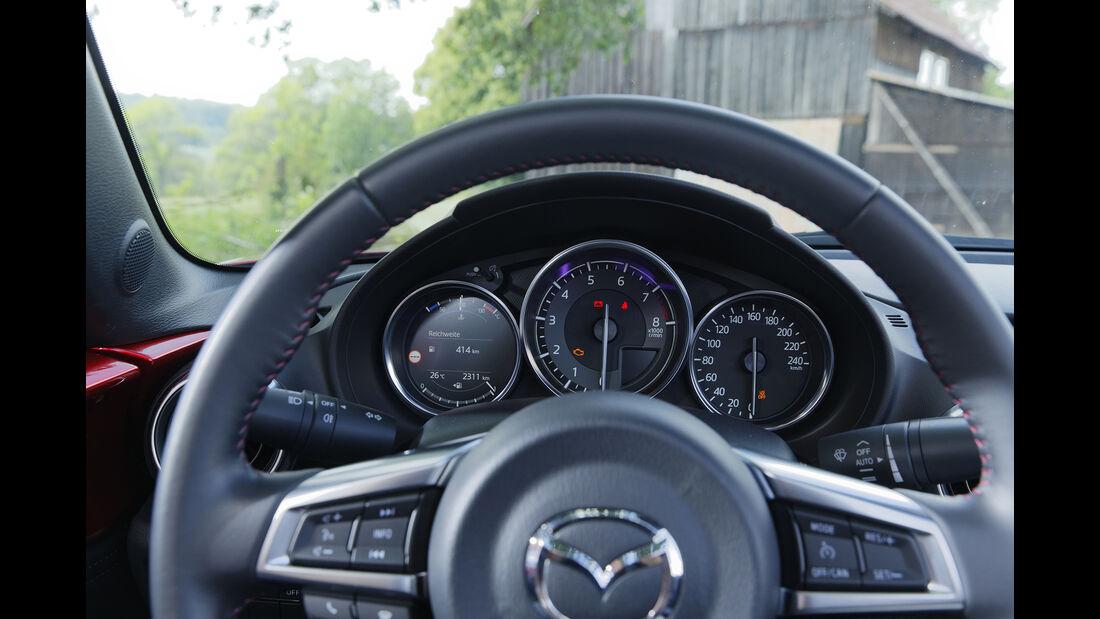 Mazda MX-5 G 184, Interieur