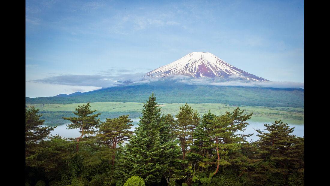 Mazda MX-5, Japan, Reise, Berg Fuji