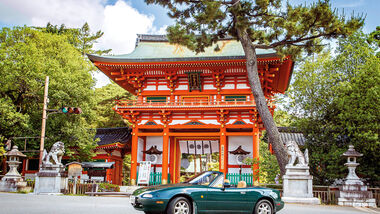 Mazda MX-5, Japan, Reise, Imamiya-Schrein