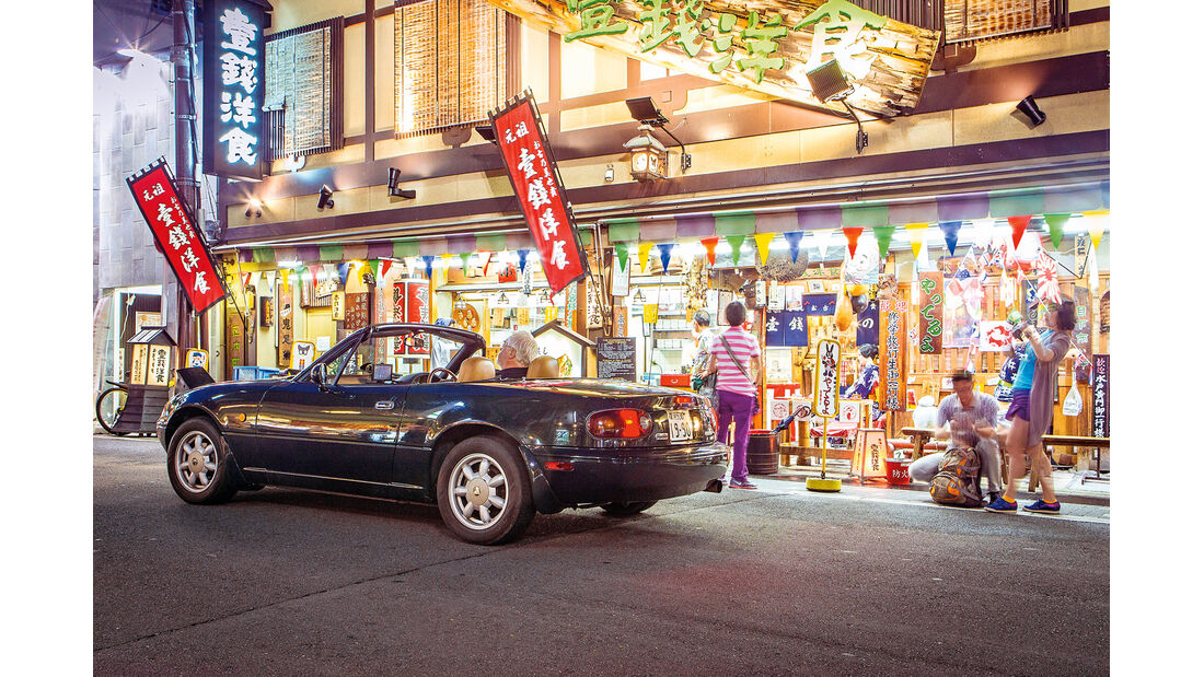 Mazda MX-5, Japan, Reise, Kyoto
