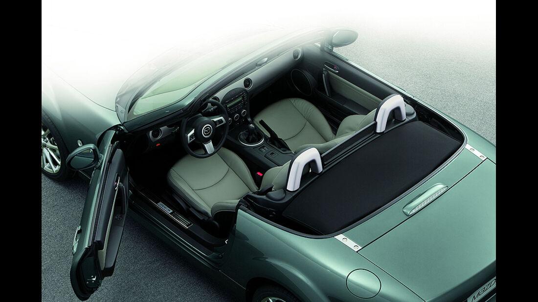 Mazda MX-5 Kaminari Sondermodell, Innenraum