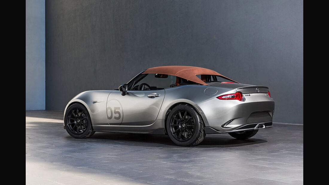 Mazda MX-5 Lightweight Concept Sema 2015 Speedster Spyder