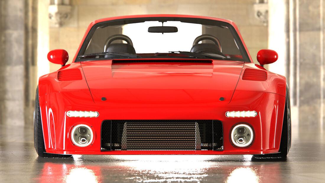 Mazda MX-5 Miata Render Design Concept