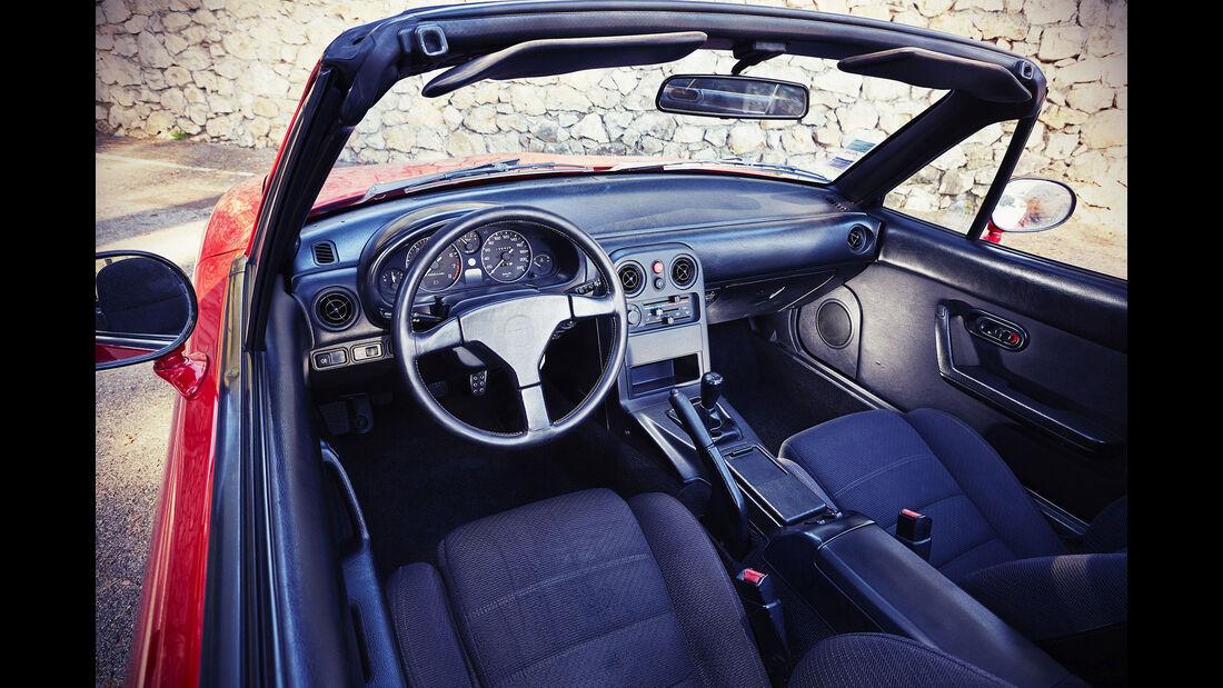 Mazda MX-5 NA (1991) - Roadster - Innenraum