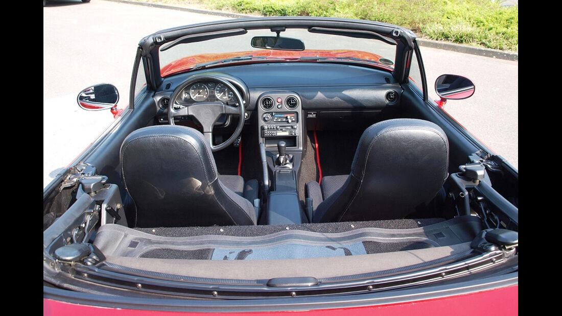 Mazda MX-5 NA, Innenraum