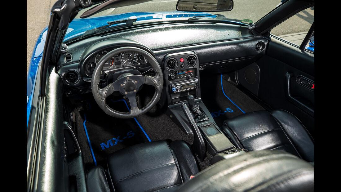 Mazda MX-5, NA, Interieur