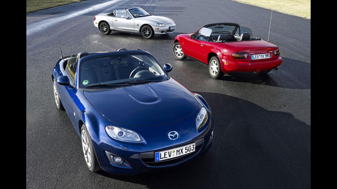 Mazda MX-5 - NA - NB - NC (Facelift) - Roadster