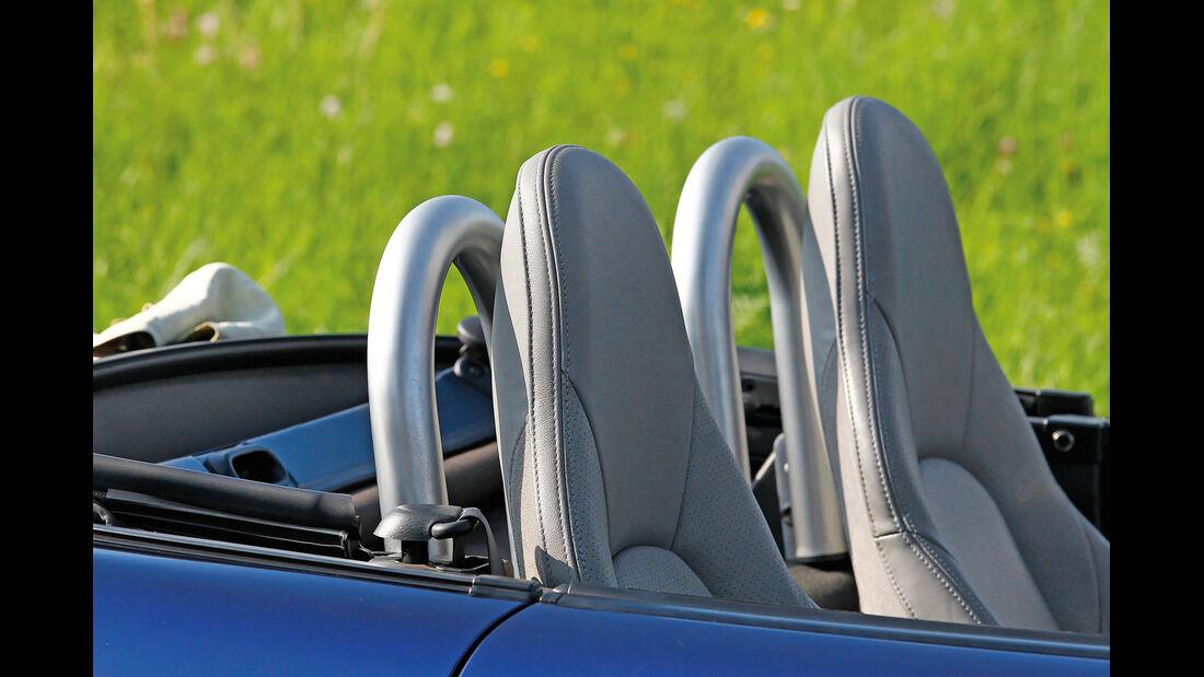 Mazda MX-5 NB, Kopfstütze