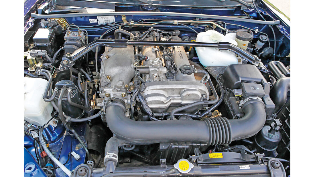Mazda MX-5 NB, Motor