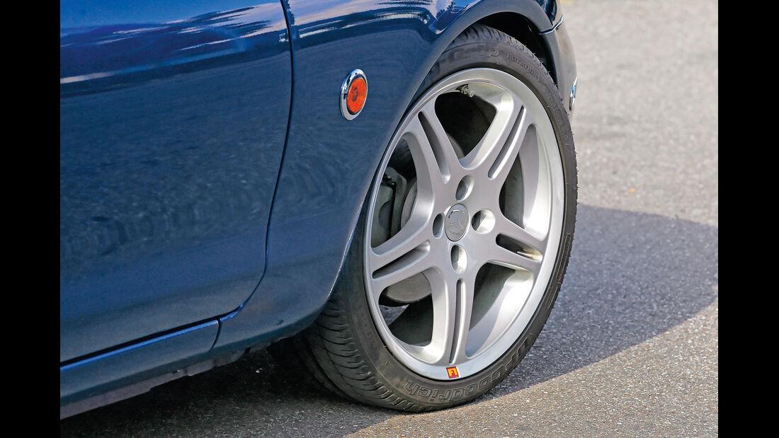 Mazda MX-5 NB, Rad, Felge