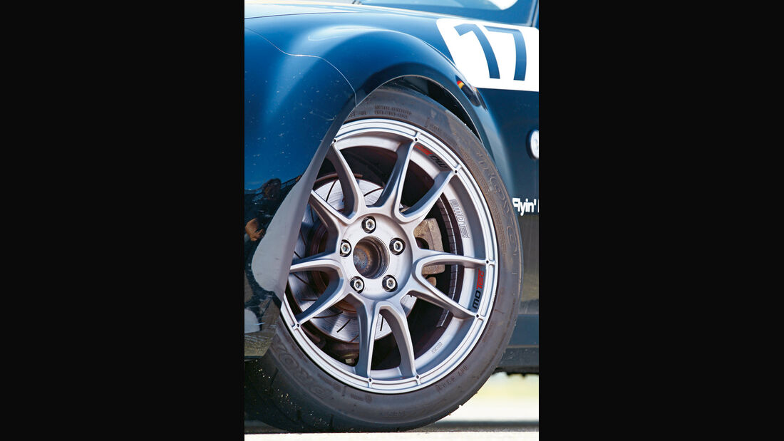 Mazda MX-5 Open Race Edition Flyin Miata, Felge, Rad