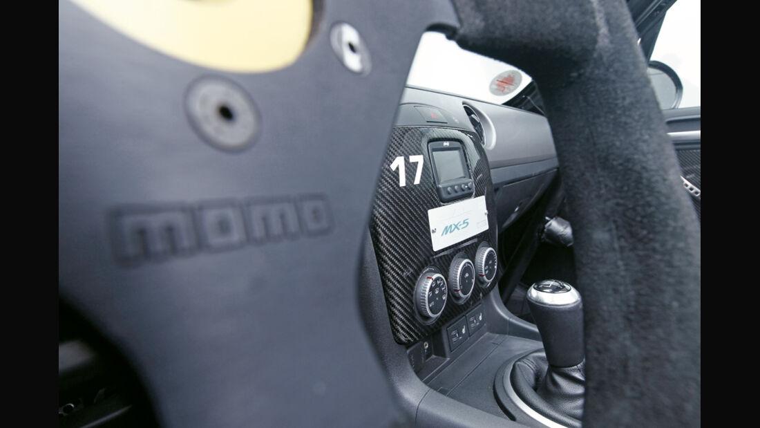 Mazda MX-5 Open Race Edition Flyin Miata, Lenkrad