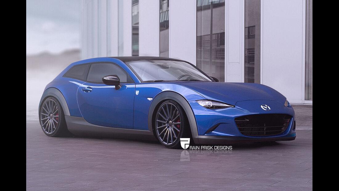 Mazda MX-5 - Photoshop - Shooting Brake - Rain Prisk 2015