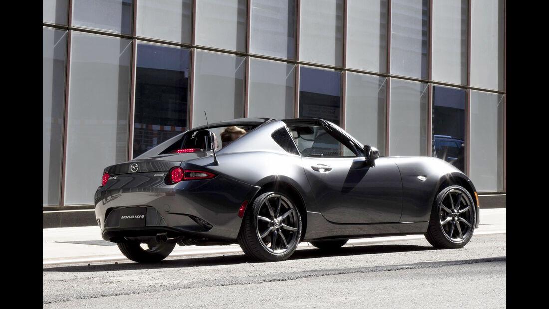 Mazda MX-5 RF, Exterior, Heck