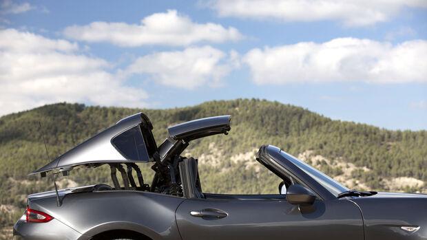Mazda MX-5 RF - Targa - Fahrbericht