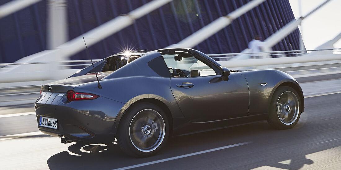 Mazda Mx 5 Rf 2017 Im Fahrbericht Der Targa Roadster Auto Motor