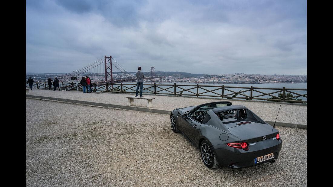 Mazda MX-5 RF in Lissabon