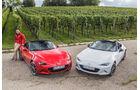 Mazda MX-5 Skyactiv 1.5, Mazda MX-5 Skyactiv 2.0 i-Eloop, Dino Eisele