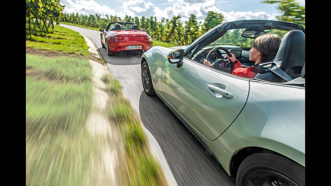 Mazda MX-5 Skyactiv 1.5, Mazda MX-5 Skyactiv 2.0 i-Eloop, Impression