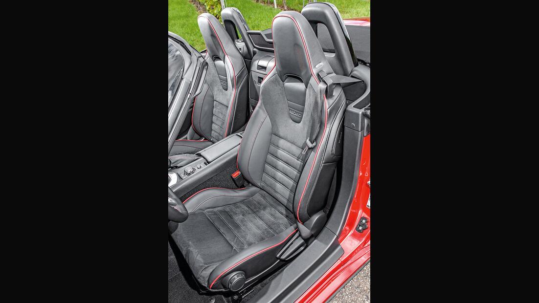 Mazda MX-5 Skyactiv 2.0 i-Eloop, Fahrersitz
