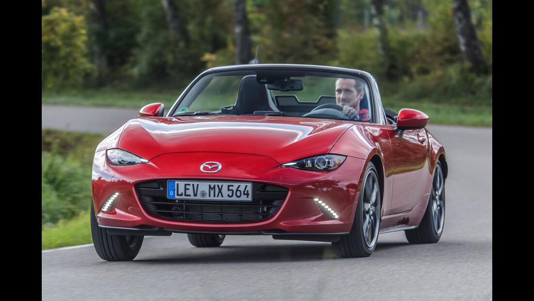 Mazda MX-5 Skyactiv 2.0 i-Eloop, Frontansicht
