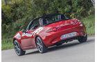 Mazda MX-5 Skyactiv 2.0 i-Eloop, Heckansicht
