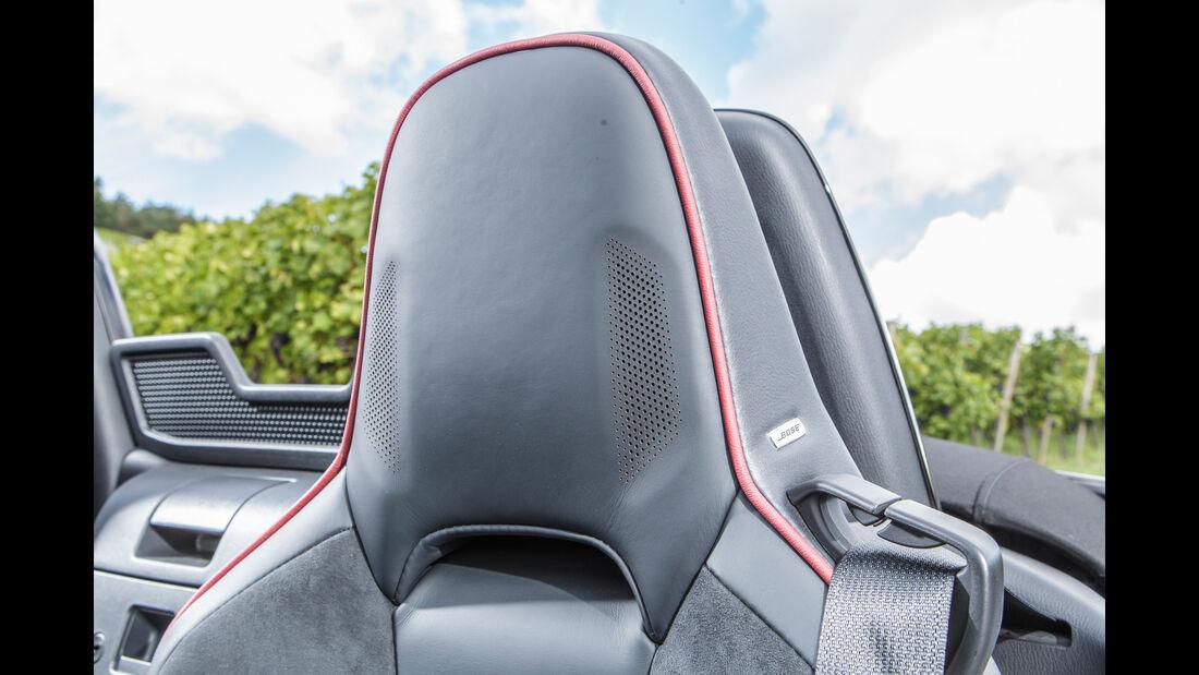 Mazda MX-5 Skyactiv 2.0 i-Eloop, Kopfstütze